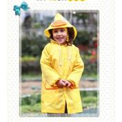 Yellow Duck Cartoon Hooded Waterproof Raincoat