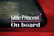 Little Princess on board Sticker. baby girl on board car