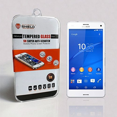 Ultimate Shield Premium Tempered Glass Screen Protector for Sony Xperia Z3 Compact