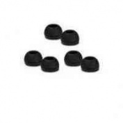 BadBoyz 6 Replacement Earbuds Tips Buds For Sennheiser CX300 CX400 CX500 100% FITS Small/Medium/Large