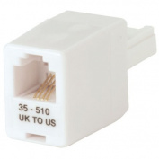 LINDY US to UK Telephone Adaptor