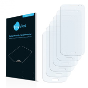 6x Savvies SU75 UltraClear Screen Protector for Samsung Galaxy S4 mini LTE (4G) I9195