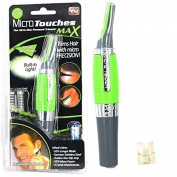 Micro Touch Max All-in-one Personal (Nose, Ear, Eyebrows, Sideburns) Built in Ligh Hair Trimmer