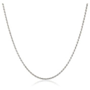 1mm thick solid sterling silver 925 stamped Italian designer ROPE chain necklace chocker bracelet anklet with spring ring clasp jewellery jewellery - Available in lengths