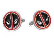 Deadpool Face Superhero Cufflinks