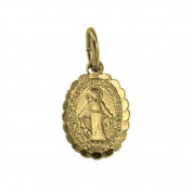 Sayers London 9ct Gold St Mary Pendant