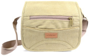 Mens / Ladies Travel / Work Canvas 'Small Messenger' Style Shoulder Bag