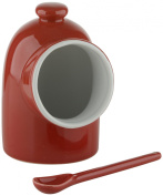 DRH Scoop Salt Pig and Spoon in Red 404145+991