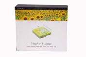 Epicurean Europe Ltd 19.5 x 18.5 x 6.5 cm Acrylic Napkin Holder, Clear
