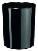 HAN 18200-13, i-Line waste bin. Modern, stylish. Elegant and glossy, premium quality, 20 litres, black