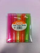 Essential neon 10 test tube shots