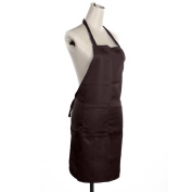 CellDeal Plain Apron Two Front Pocket Chefs Butchers Kitchen Cooking Craft Baking Coffee