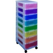Really Useful Multicoloured 8x7 Tower Drawers