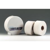 Mini Jumbo Toilet Rolls 95mm x 150M Roll 2 Ply 60mm Core Pk12