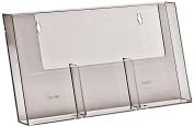 Three Pocket DL Size Leaflet Holder