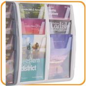 Panorama Leaflet Dispenser Colour