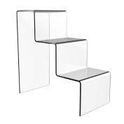 Acrylic 3 Step Counter Display Stand.