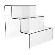 Large Acrylic 3 Step Counter Display Stand.