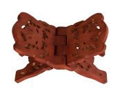 Rosewood Folding Religious Book Stand Holder Intricately Handcarved Birthday Housewarming Gift Ideas