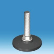 M10 Threaded N Type Non-Tilt Adjuster with a Stem Length of 70mm and 50mm Foot Size - Pack of Four