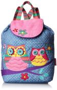 Stephen Joseph 'Signature' Quilted Backpack Pink Owl