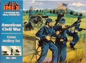 Union Artillery - American Civil War - 1/72 Plastic Soldiers by IMEX