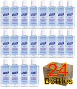 24 x Purell Hygenic Hand Sanitizer Gel / Rub 118ml 4oz Personal Pump Bottles Used by Hospitals
