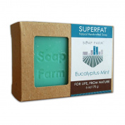 Soap Farm Eucalyptus-Mint SUPERFAT All Natural Soap 180ml Bar