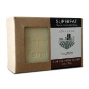 Soap Farm Leather SUPERFAT All Natural Soap 180ml Bar