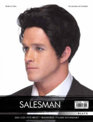 High Quality Black Salesman Synthetic Hair Wig