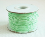 MINT GREEN 0.8mm Chinese Knot Nylon Braided Cord Shamballa Macrame Beading Kumihimo String