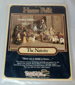 Home Folk The Nativity Pattern Limited Edition