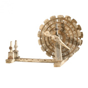 Global Views Wooden Spinning Wheel/Charkha, Oversized Item