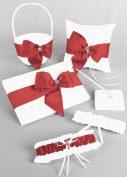 Regal Ties Gift Set White / Guava