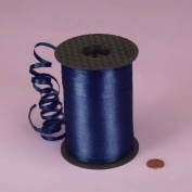Ribbon - 1ea - 0.5cm X 500 Yds Navy Crimped Curling Ribbon