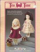 Tea Time Dress for 29cm Doll - Fibre Craft Crochet Pattern FCM214 - Crochet Instructions Pattern Only