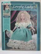 Fibre-Craft FCM484 Crochet Pattern - Lovely Lady