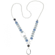 Counting Necklace 100cm -Winter Ice