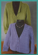 Options Jacket Fibre trends Knitting Pattern LL481