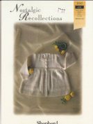 Nostalgic Recollections Baby Wool Matinee Coat Shepherd Knitting Pattern 2036 Birth-3mos.