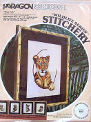 Paragon Needlecraft Wildlife Series Stitchery Kit ~ Lion Cub