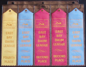 Swimming Ribbon (25 Extra Pages) Organiser Binder Storage Album Ribbons Holder Swim Swimmer Gift Display
