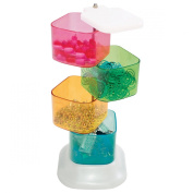 Storage Studios Trinket Tower, 4 Swivel Containers, 10.25 x 7cm x 9.5cm , Multicoloured, CH93395