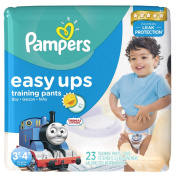 Pampers Easy Ups Boys, Size 3T-4T, Jumbo Pack, 23 Count