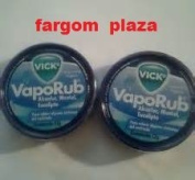 (2) Vicks Vaporub Topical Ointment 12g Tin Travel Size