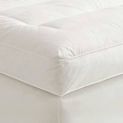 10cm Full XL Goose Down Mattress Topper Featherbed / Feather Bed Baffled