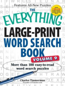 The Everything Large-Print Word Search Book