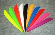 AAE Elite Arrow Vanes 13cm Mix/Match 10 Colours Pkg/50