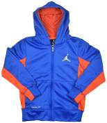 Jordan Boys' (8-20) Nike Therma-Fit Jumpman Full Zip Hoodie-Blue/Red-Large