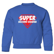 Mashed Clothing Super Second Grader Youth Sweatshirt